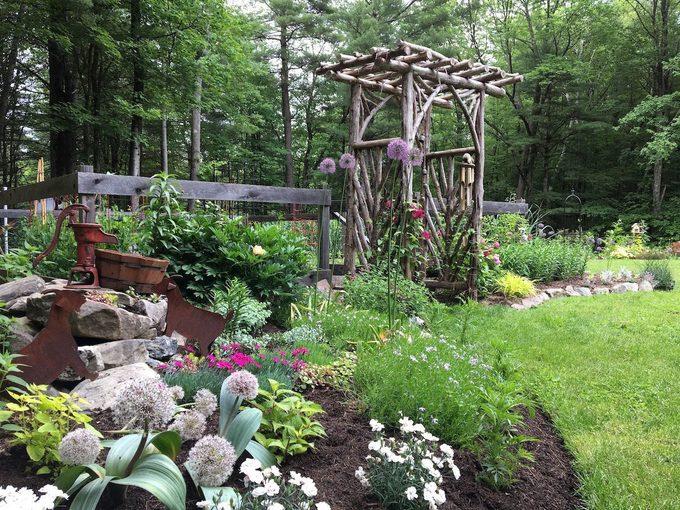 Les meilleures plantes pour un jardin à l'ombre.