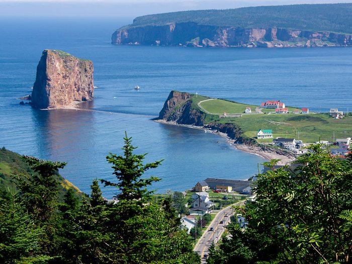 L'Île Bonaventure est l'un des endroits où faire un pique-nique au Québec.