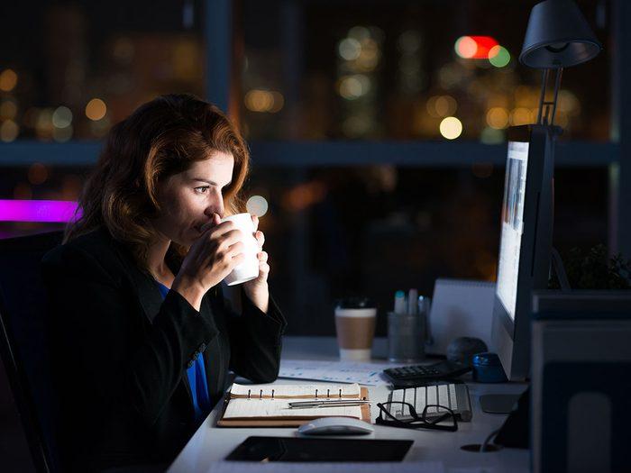 La productivité même toxique est addictive.