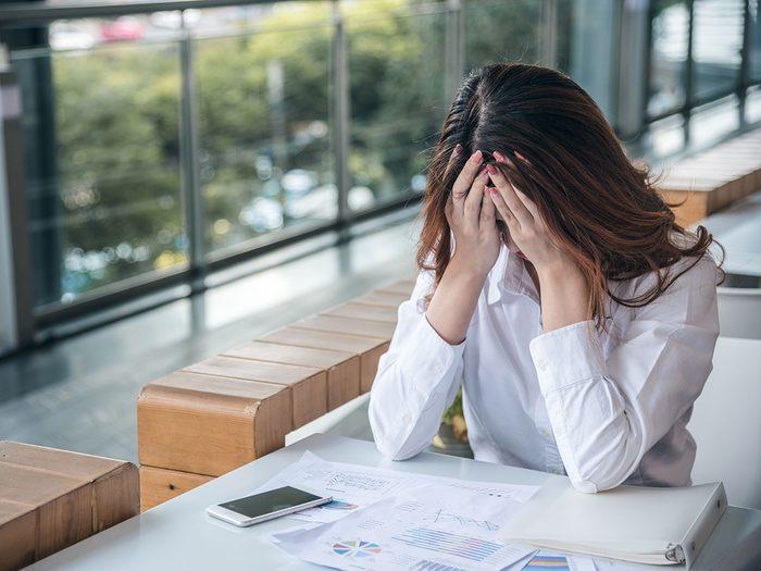 Les effets secondaires de la productivité toxique.