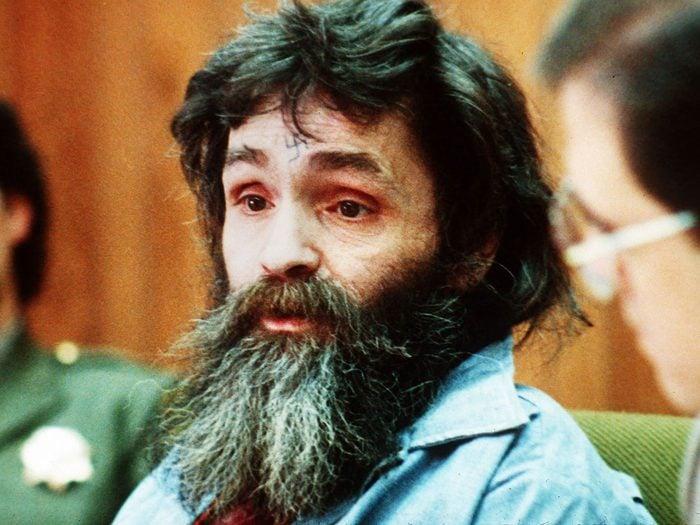 Charles Manson fait partie des psychopathes les plus célèbres de l'histoire.
