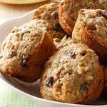 Muffins aux courgettes et aux noix