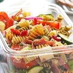 Salade de pâtes style Delicatessen