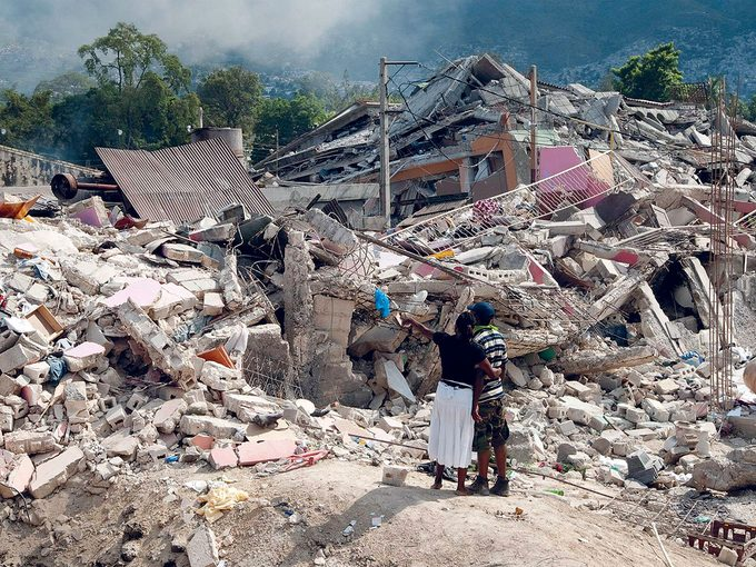 Une semaine à Haïti après le séisme.