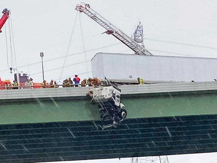 Témoignage: Rescue 15 est venue à la rescousse pendant le sauvetage.