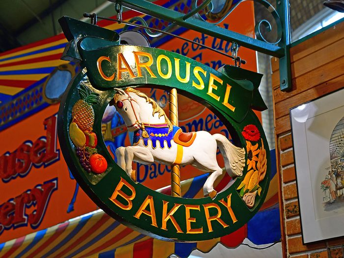 Le Carousel Bakery fait partie des trésors cachés à découvrir au Canada.
