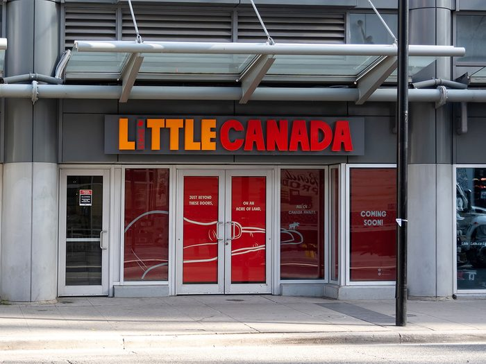 Little Canada fait partie des trésors cachés à découvrir au Canada.