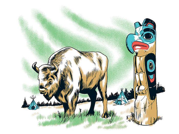Le musée du patrimoine Tlingit de Teslin fait partie des trésors cachés à découvrir au Canada.