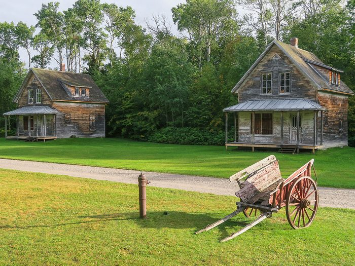 Le musée à ciel ouvert de Val-Jalbert fait partie des trésors cachés à découvrir au Canada.