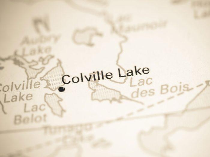 Colville Lake fait partie des trésors cachés à découvrir au Canada.