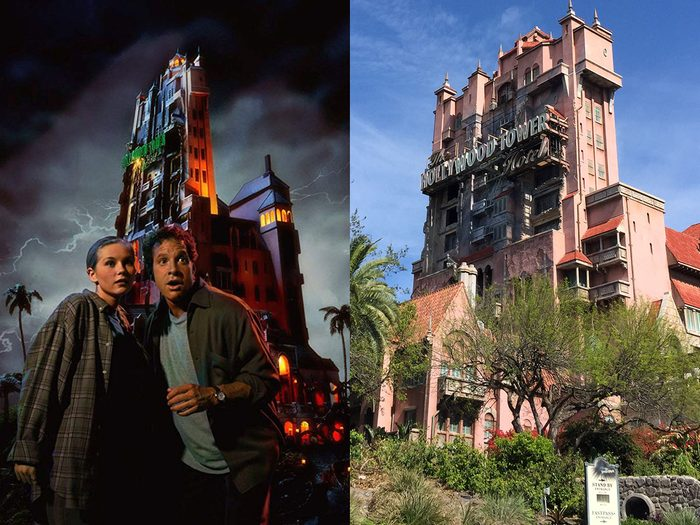 Outre Croisière dans la jungle avec Dwayne Johnson, on retrouve le film Le fantôme d'Halloween qui est également inspiré d'un manège.