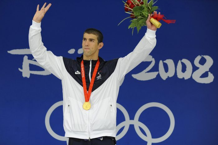Jeux Olympiques Beijing Phelps Records
