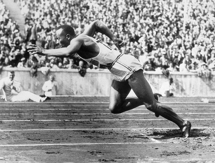 Jeux Olympiques Jesse Owens