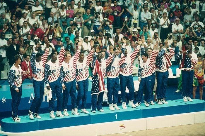 Jeux Olympiques Dream Team Barcelonne