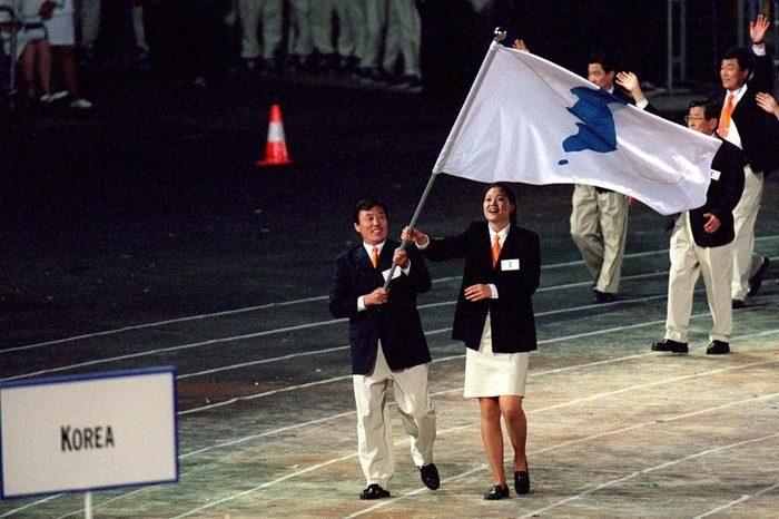 Jeux Olympiques Union Deux Coree