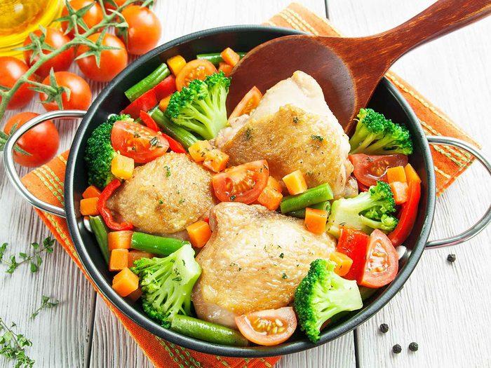 Consommer davantage de protéines pour augmenter son métabolisme.