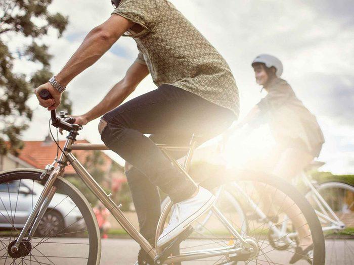 Changer de mode de transport pour augmenter son métabolisme.