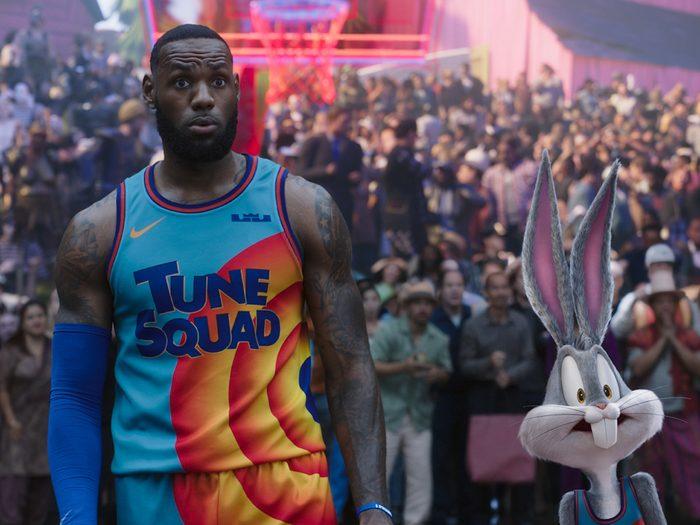 Basket Spatial: Une nouvelle ère est l'un des films à voir au cinéma avec les enfants.