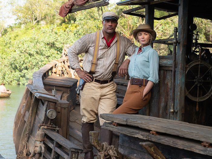 Croisière dans la jungle est l'un des films à voir au cinéma avec les enfants.