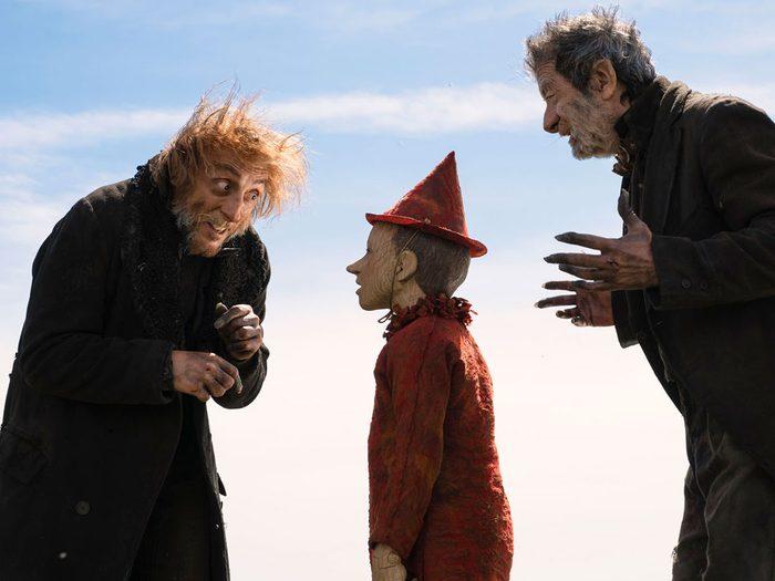 Pinocchio est l'un des films à voir au cinéma avec les enfants.