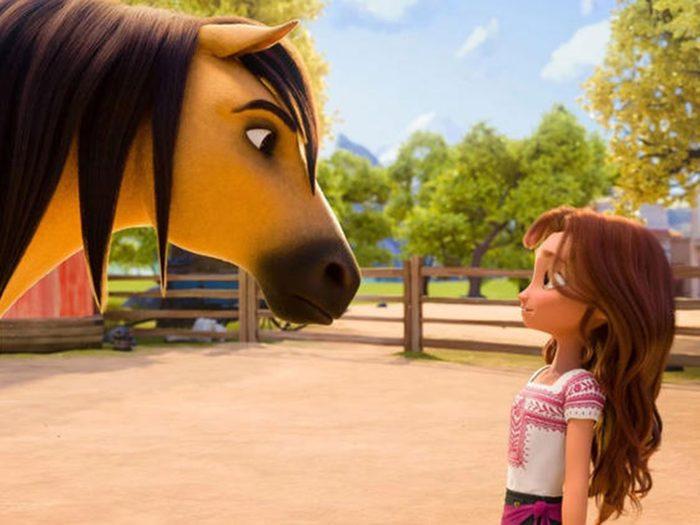 Spirit: L'indomptable est l'un des films à voir au cinéma avec les enfants.