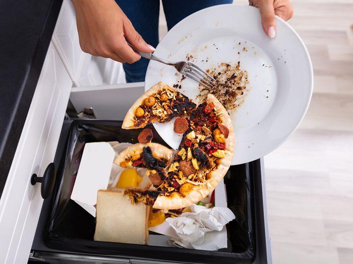 Un régime minceur au gaspillage alimentaire.