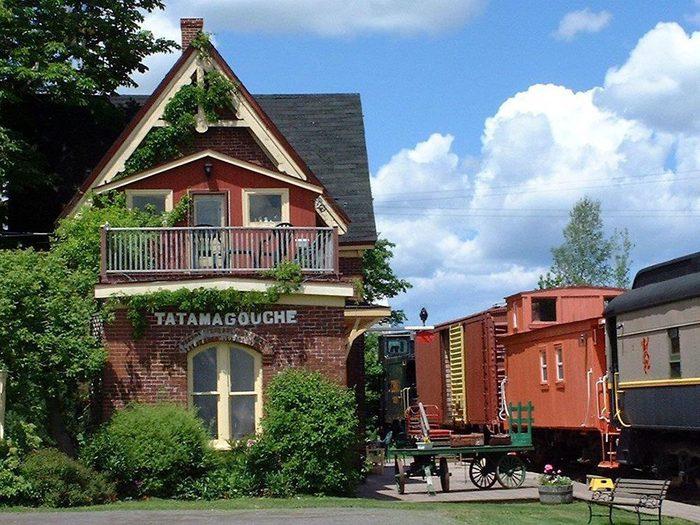 Passez la nuit dans un hôtel insolite en choisissant cette station de train.