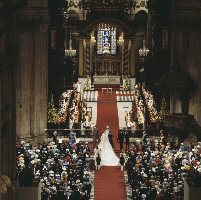 Le mariage du prince Charles et de la princesse Diana a eu lieu dans la Cathédrale Saint-Paul.