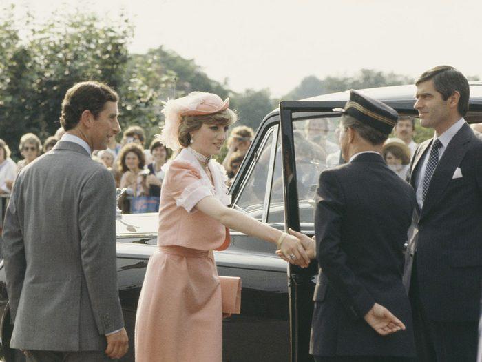 Le fiasco du Just Married lors du mariage de la princesse Diana et du prince Charles.