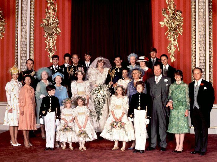 Les souvenirs du mariage de la princesse Diana et du prince Charles.