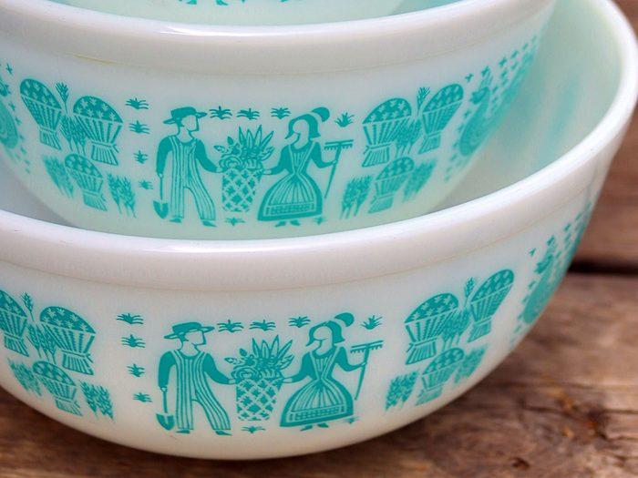 Ce que vous devez savoir sur vos plats en pyrex vintage de collection.
