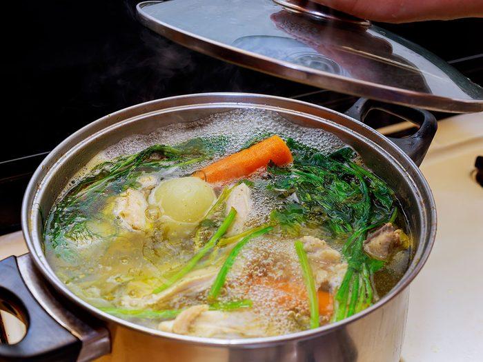 Comment régler le problème de cuisson de légumes?