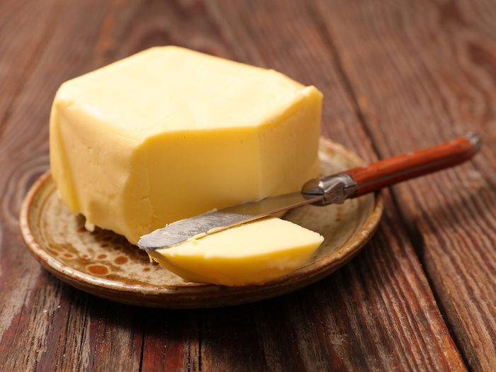 Comment régler le problème de beurre trop dure?