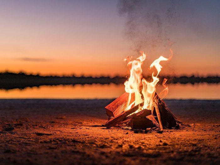 Comment régler le problème d'allumage de feu?