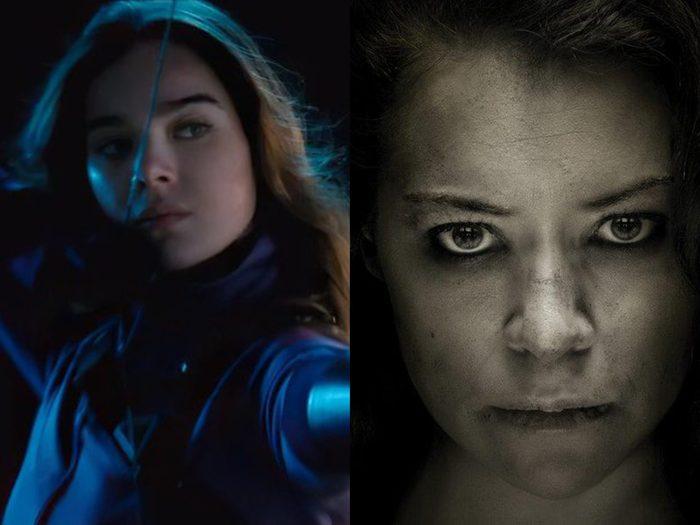 Scarlett Johansson dans Black Widow, Kate Bishop et Jennifer Walters.