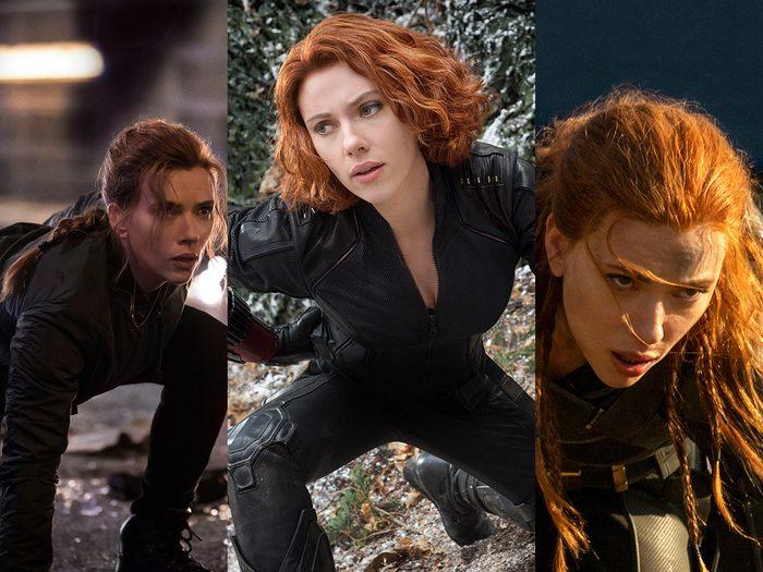 Scarlett Johansson a appris à prendre LA pose en tant que Black Widow.