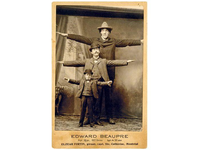 Découvrez le Québec insolite à travers l'histoire d'Édouard Beaupré.