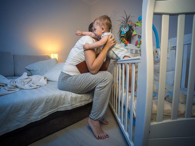 Trois réalités sur le sommeil d'un bébé.
