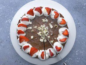 Gâteau au fromage au chocolat
