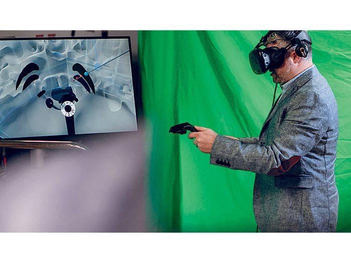Les lunettes de réalité virtuelle pour chirurgie cérébrale font partie des innovations qui révolutionnent les hôpitaux et le domaine de la santé.
