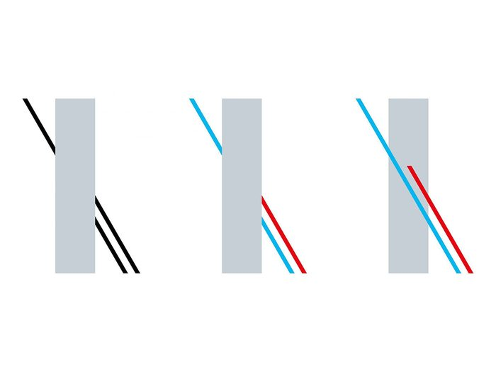 L'illusion d'optique des lignes reliées.