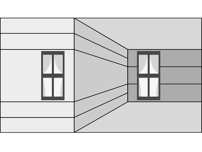 L'illusion d'optique en perspective.