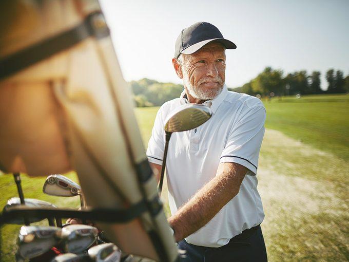 Maladie de Parkinson: les parkinsoniens devraient jouer augolf.