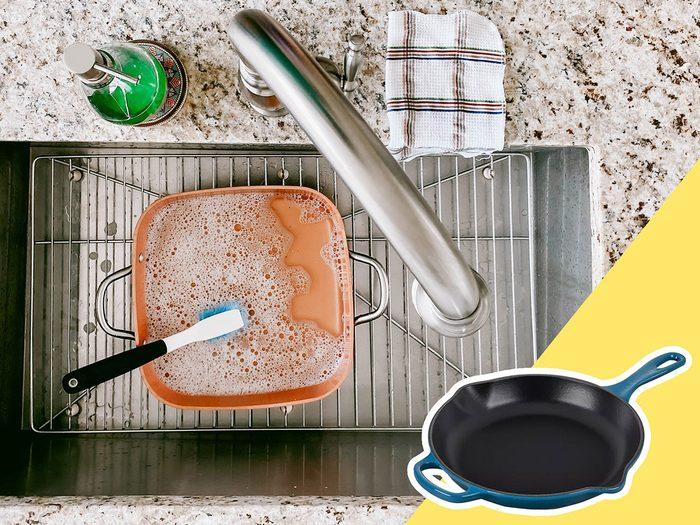 Négliger la batterie de cuisine fait partie des mauvaises habitudes alimentaires qui coûtent cher.