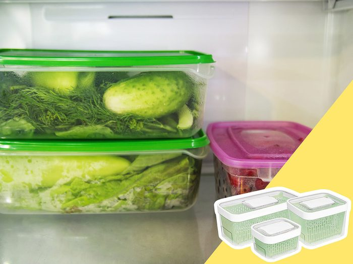 Conserver inadéquatement les produits frais fait partie des mauvaises habitudes alimentaires qui coûtent cher.