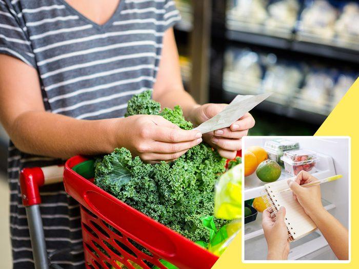 Ne pas planifier fait partie des mauvaises habitudes alimentaires qui coûtent cher.