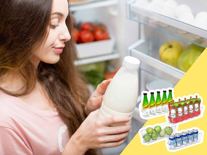 Soyez attentif à la nourriture très périssable lors du nettoyage du frigo.