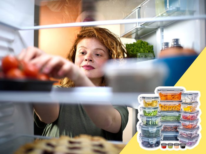 Soyez attentif aux aliments exposés à l'air lors du nettoyage du frigo.