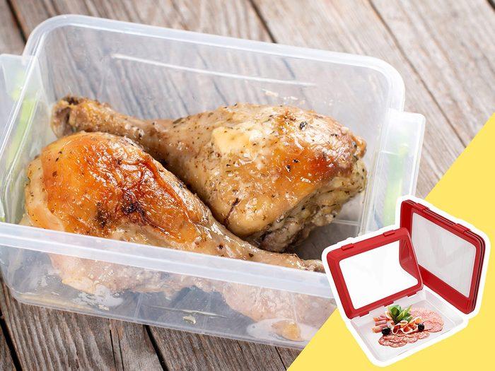 Soyez attentif à la viande cuite depuis trois jours lors du nettoyage du frigo.