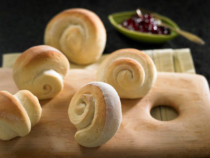 Recette de pain blanc classique.
